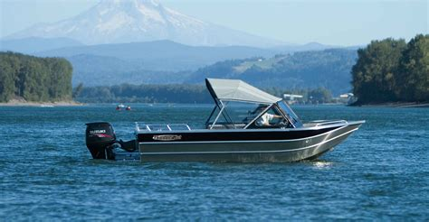 Duckworth Boats For Sale Bc by Welded Aluminum Fishing Boats Thunder Jet Heavy