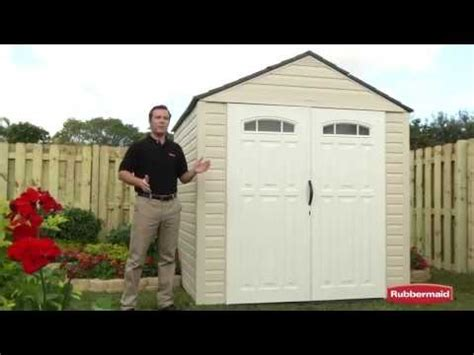 Rubbermaid Shed 7x7 Manual by Tulsi Rubbermaid Storage Shed Assembly