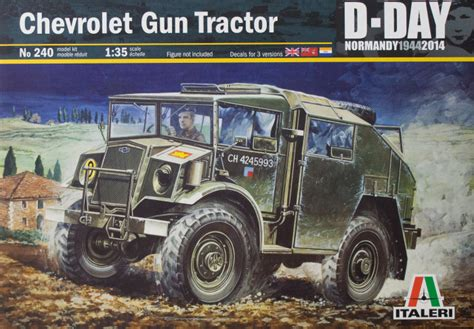 italeri   chevrolet gun tractor kit