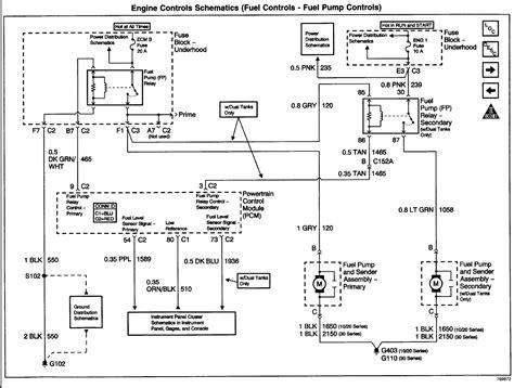 2002 Chevy Silverado 2500 Wiring Diagram by A 2002 Chevy Silverado 2500 No Fuel Pressure