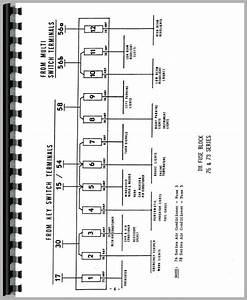Deutz D6806 Tractor Wiring Diagram Service Manual