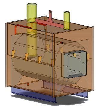 build wood burning boiler  woodworking