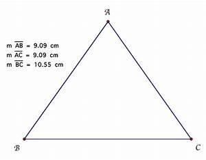 isosceles triangle itself
