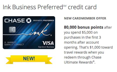 Ink business preferred® credit card. Chase Ink Business Preferred Credit Card Officially Released