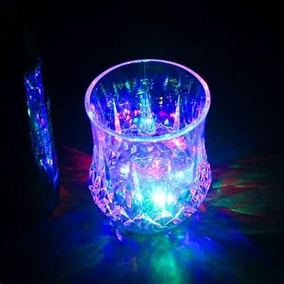 Flashing Led Cup Oz Transparent Shine