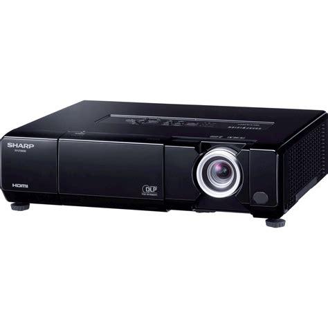 sharp xv z15000 dlp projector xvz15000 b h photo