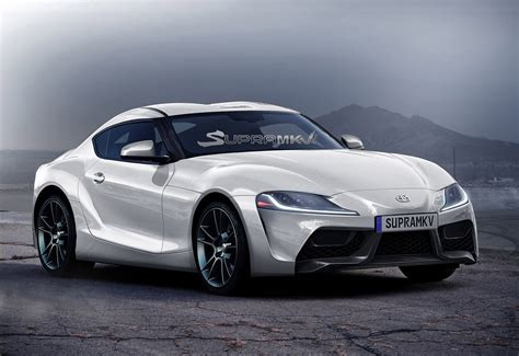 2018 Toyota Supra Renderings Seem Spot On, Show F1 Car