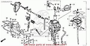 honda atc250es big red1985 f usa carburetor schematic With diagram of honda atv parts 1985 atc250es a carburetor diagram