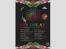 2017 European dates announced! Coldplay