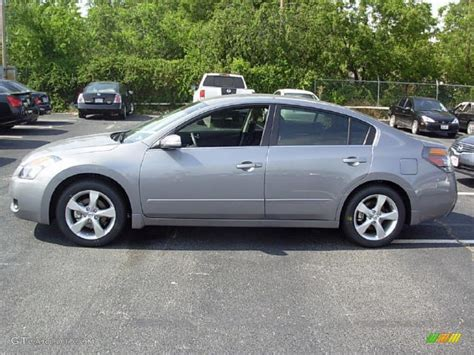 grey nissan altima 2008 precision gray metallic nissan altima 3 5 se