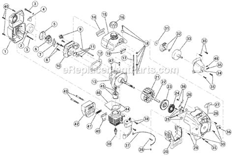 troy bilt tbcs parts list  diagram adtc