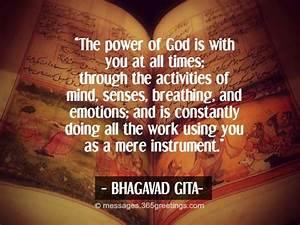 bhagavad gita inspirational life success quotations in ...