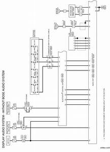 Toyota Display Audio System Wiring Diagram