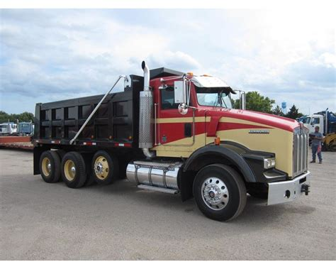 heavy duty kenworth trucks for 2006 kenworth t800 heavy duty dump truck for sale sawyer