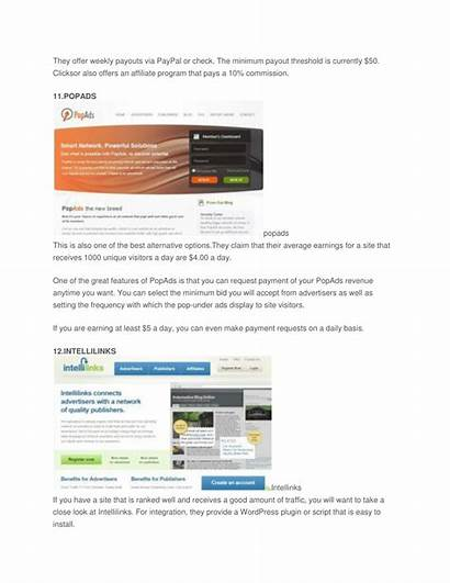 Alternatives Payouts Paying Adsense Earn Slideserve Google