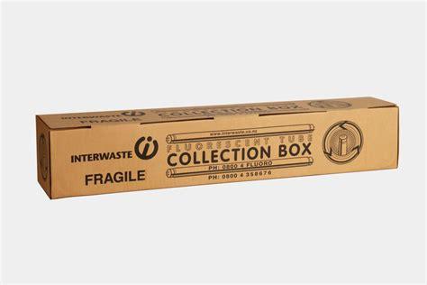fluorescent light tube disposal 100 tube fluorescent tube recycling box interwaste