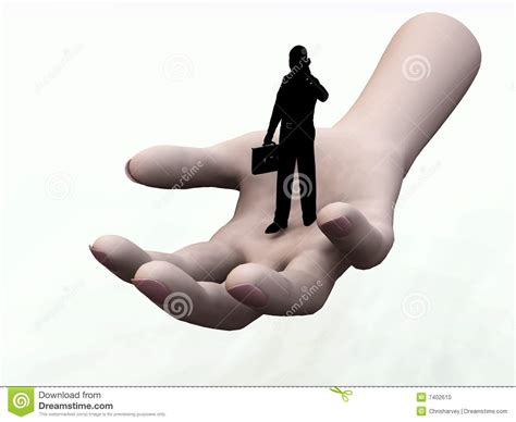 Give Me A Hand 2 Stock Photo