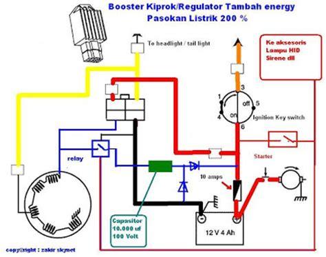 solusi battery cara mudah membuat booster kiprok