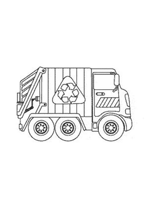 garbage truck transportation coloring pages  kids printable  kids birthdays