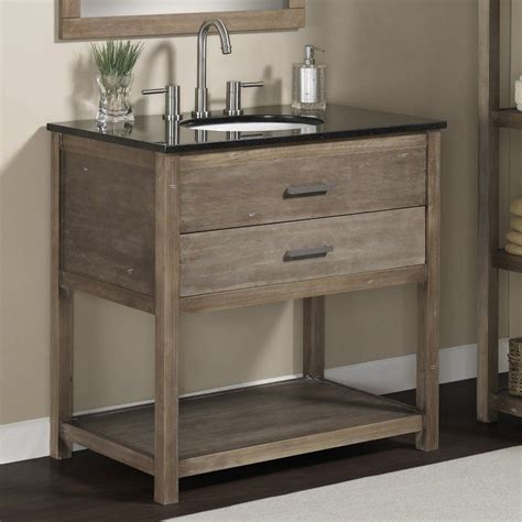 Bathroom Vanities Single Sink by Bathroom Solid Wood 24 Inch Granite Top Single Sink