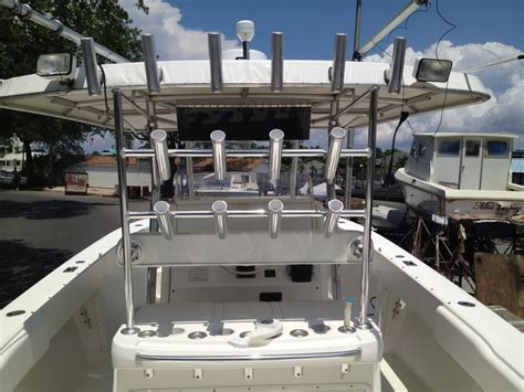Adding Rod Holders To Fiberglass Boat by Custom Aluminum Fiberglass For Your Boat Is Now Available