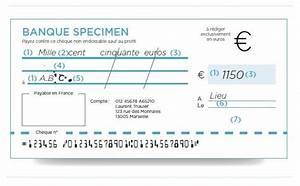Chèque De Banque La Poste : comment remplir un cheque mes moyens de paiement les cl s de la banque espace particuliers ~ Medecine-chirurgie-esthetiques.com Avis de Voitures