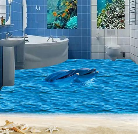 3d Epoxy Wallpapers by 3d Flooring Wallpaper Custom Waterproof 3d Pvc Flooring Hd