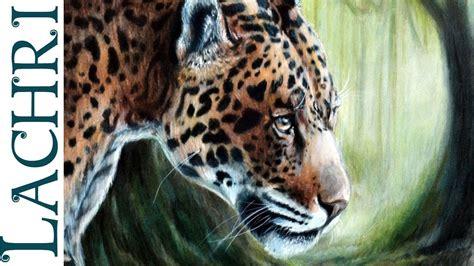 blend colored pencils  paint thinner jaguar
