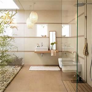 idees deco pour une salle de bain nature zen madeinmeuble With idee salle de bain zen et nature