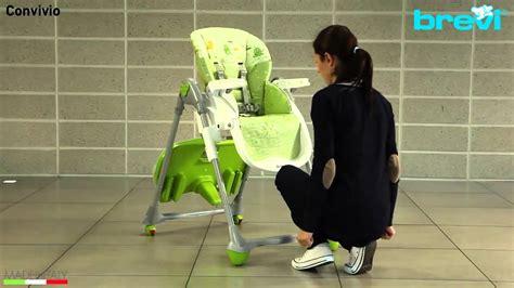 chaise haute brevi b oclio chaise haute convivio de brevi