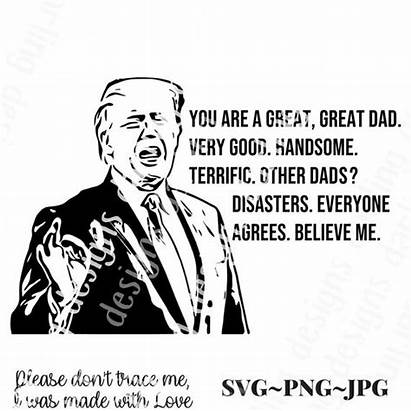 Trump Svg Donald Father Dad Fathers Uncle