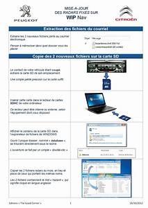 Mise A Jour Peugeot : installation base radar ou mise a jour sur un rneg my way citroen wip nav peugeot ~ Medecine-chirurgie-esthetiques.com Avis de Voitures
