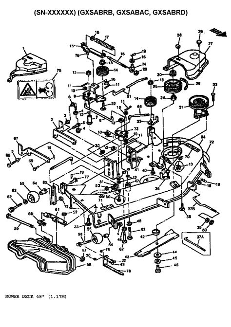 High Resolution John Deere Lawn Tractor Parts Diagram