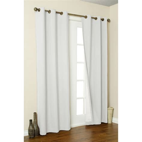 thermalogic weathermate curtains 80x54 quot grommet top