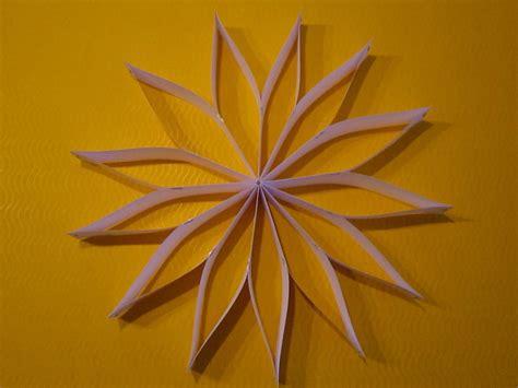 streifenstern kreative sterne aus papier basteln