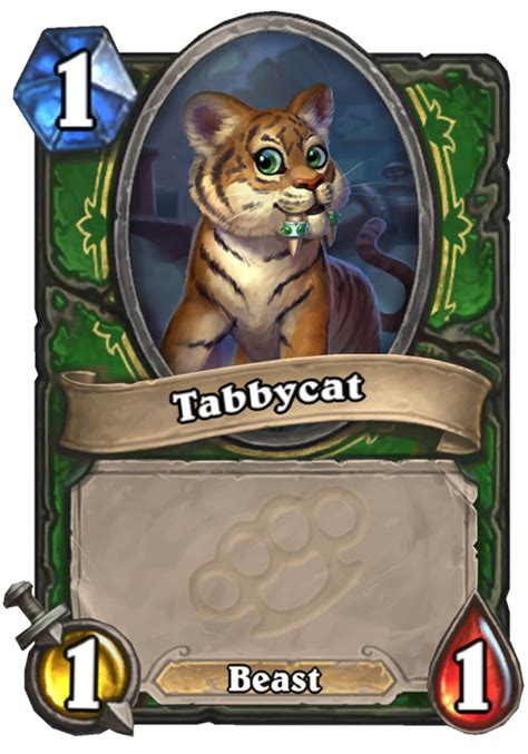 Hearthstone Beast Deck 2016 by Tabbycat Hearthstone Card