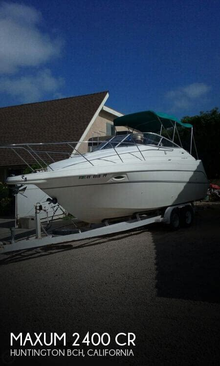 Boat Service Huntington Beach by 2002 Maxum 24 24 Foot 2002 Maxum Motor Boat In
