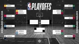 nba playoff bracket 2020 updated tv schedule scores