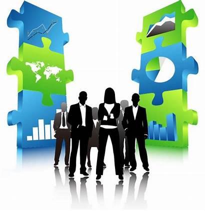 Business Team 3d Puzzle Pieces Graphics Resources