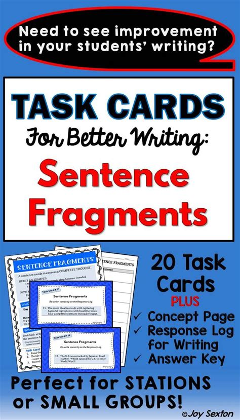 25+ Best Ideas About Sentence Fragments On Pinterest  Incomplete Sentences, What's A Predicate
