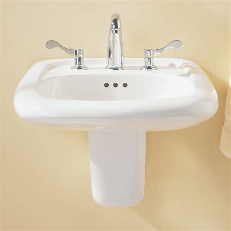designer bathroom sinks murro universal design everclean wall mounted sink
