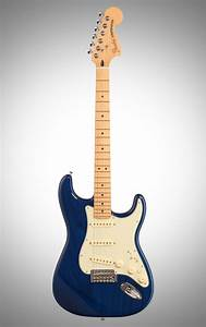 Fender Deluxe Stratocaster Electric Guitar  Maple