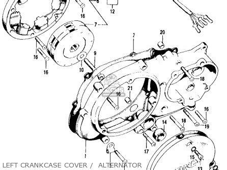 honda ct90 trail 1970 k2 usa parts list partsmanual partsfiche