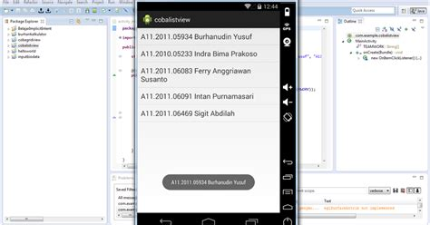 Ferry Anggriawan by Pondok Tugas Membuat Listview Pada Android