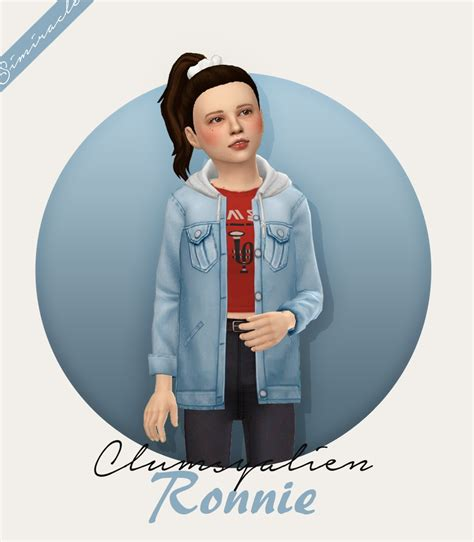 Clumsyalien Ronnie Jacket From Simiracle Sims 4 Downloads