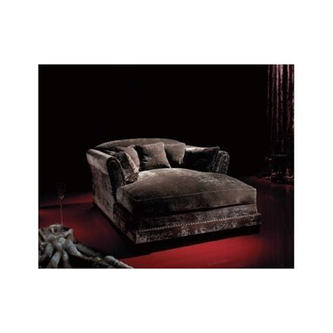 chaise empire empire upholstered button nail plush velvet chaise
