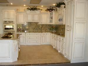 antique white kitchen ideas simple kitchen design with fancy marble tiles backsplash also paired with antique white kitchen
