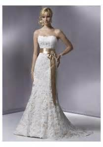 mermaid lace wedding dresses lace strapless slight mermaid wedding gown with sashcherry cherry