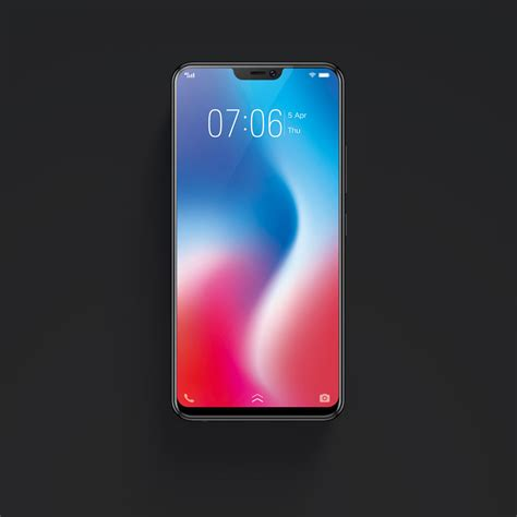 Vivo V9 With Iphone X Like Notch Powered By Sd626 Soc