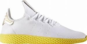 Pharrell Williams x adidas Tennis Hu White Yellow
